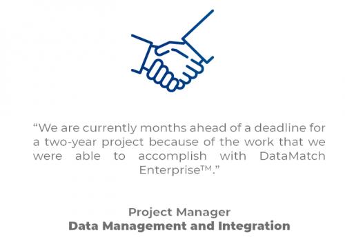 DL Q_Data Integration Company M&A Case Studies Quote