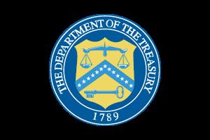 DL_USA Dept of Treasury Regular Logo