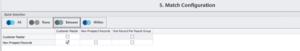 DataMatch Enterprise - Match Configurations