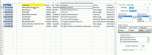 Fuzzy Matching in Excel
